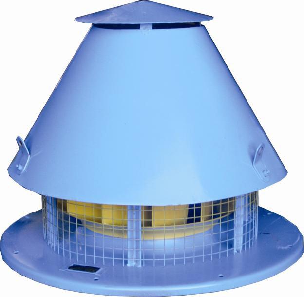 Вентиляторы радиальные крышные типа ВКР